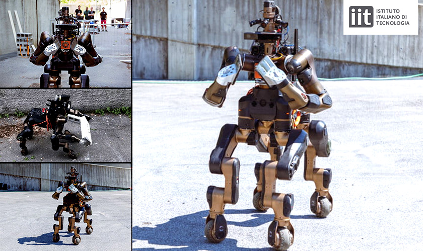 Centauro, the six-limbed robot will save lives in the future