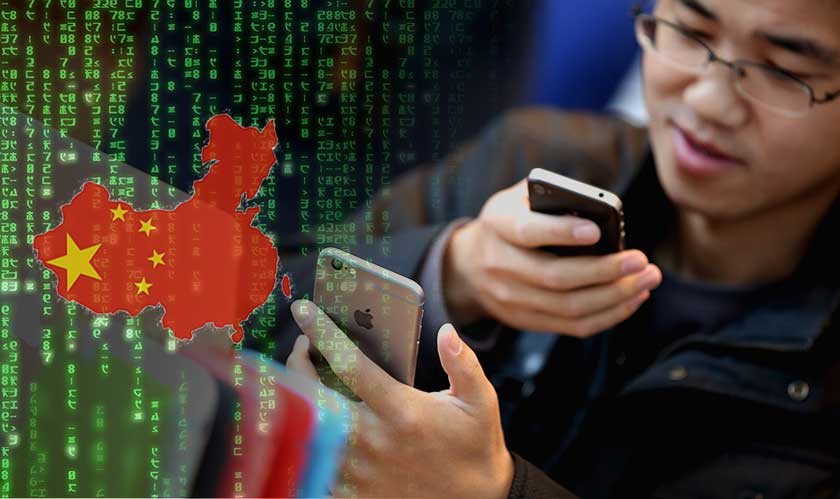 china deleted information apps