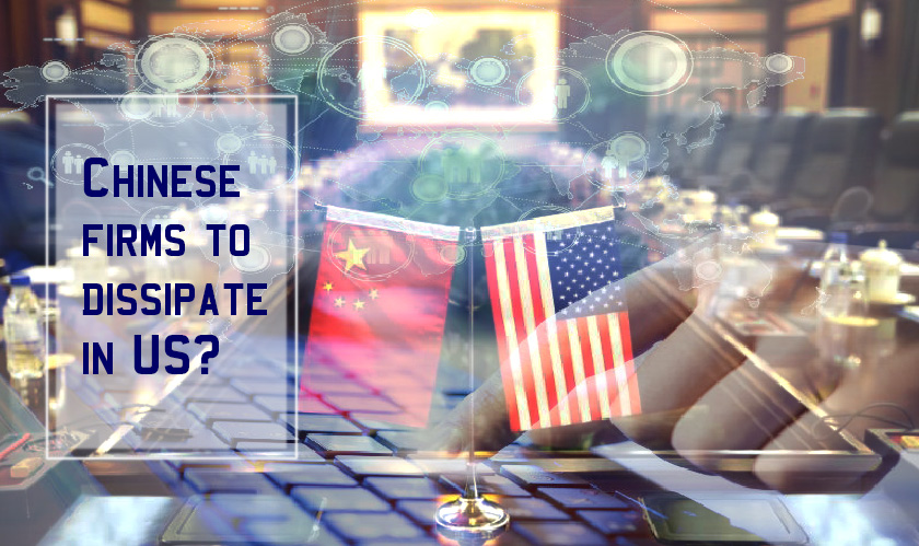 Chinese firms to dissipate in US?