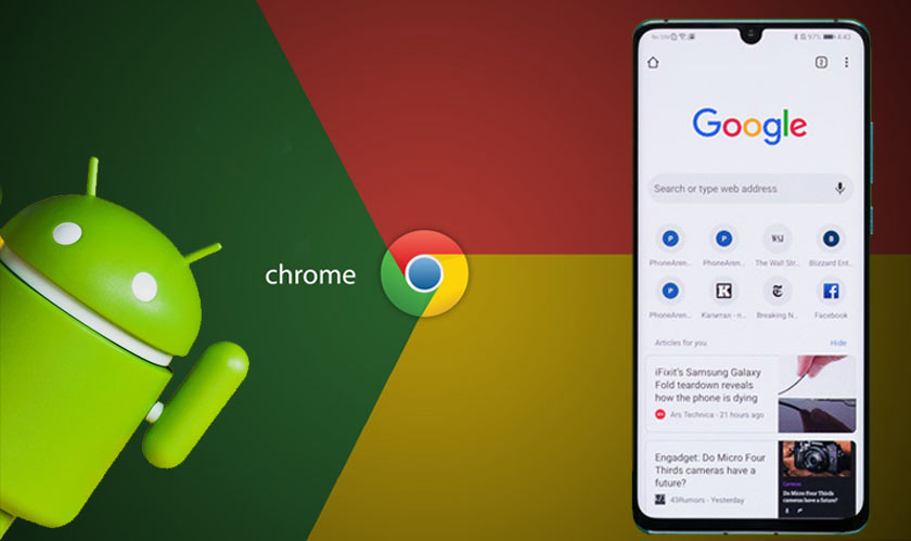 software chrome    update data loss android