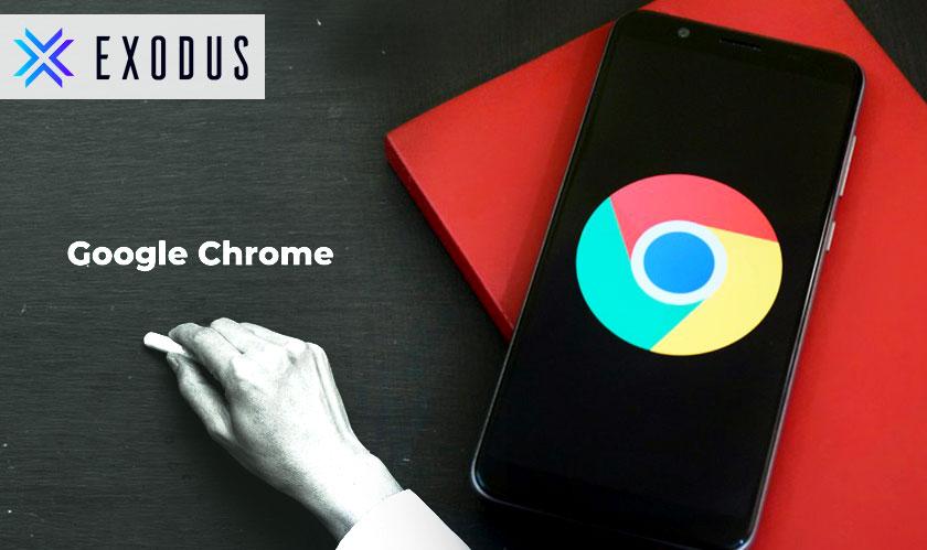 chrome google os exodus