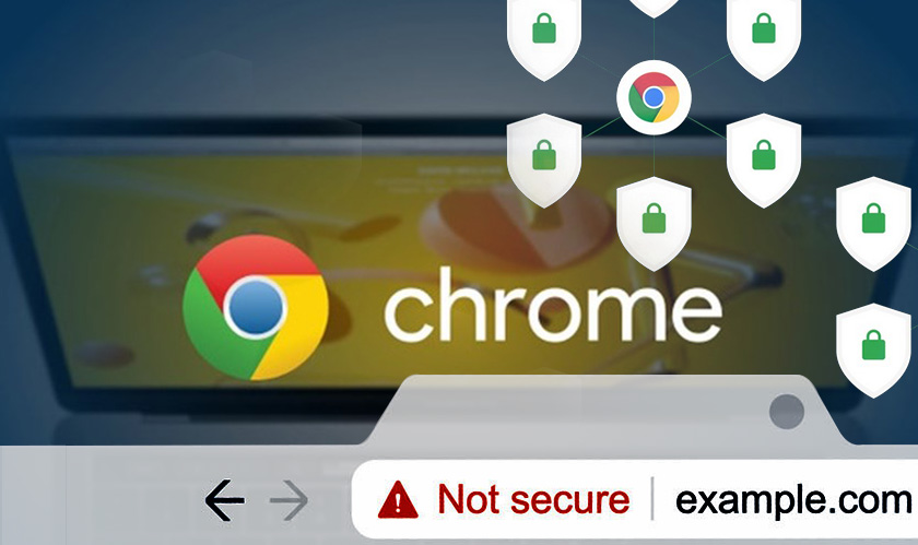 chrome unencrypted websites not secure
