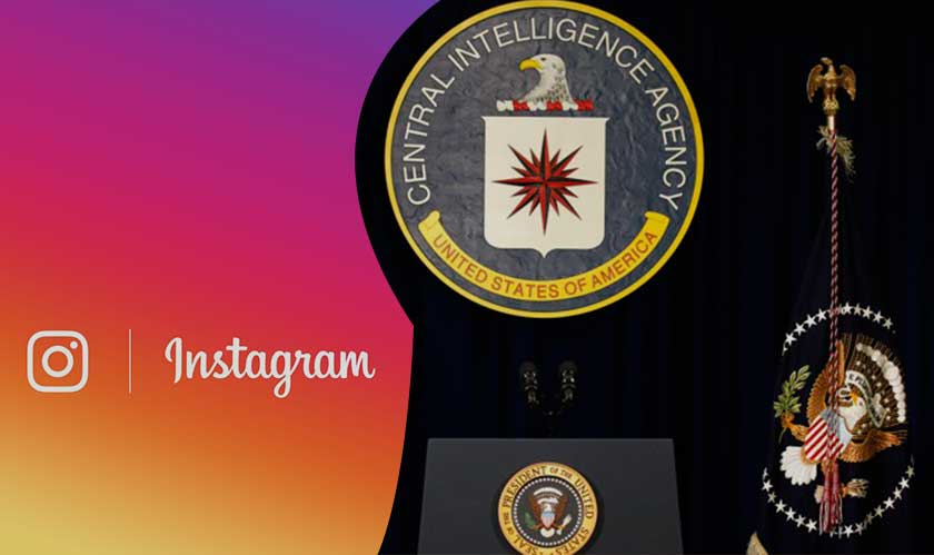 cia joins instagram
