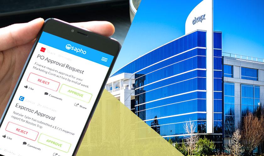 Citrix is acquiring Sapho for $200 million