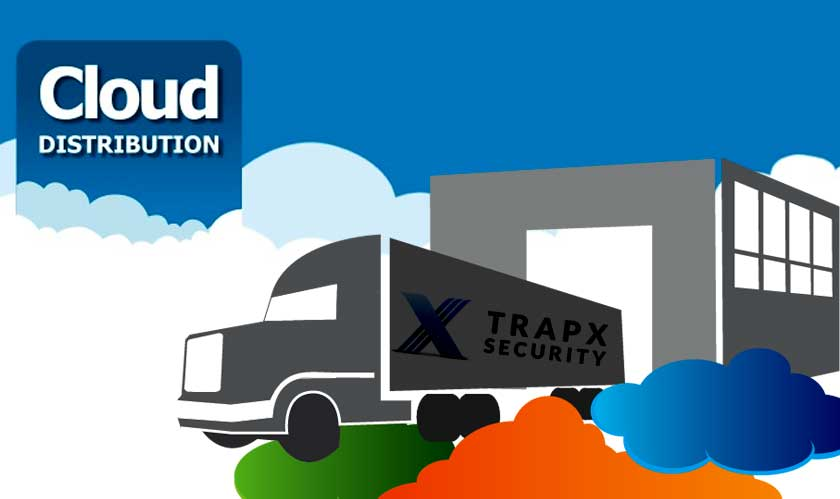 Cloud Distributions makes a deal with TrapX