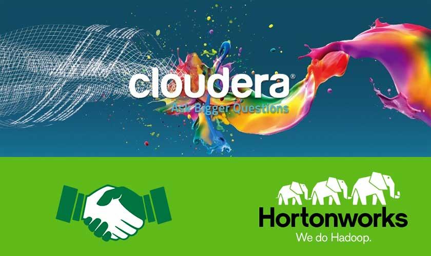 cloudera hortonworks complete merger