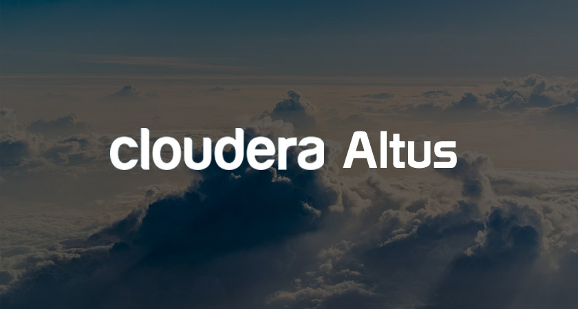 cloudera launches altus brings bigdata workloads to the cloud