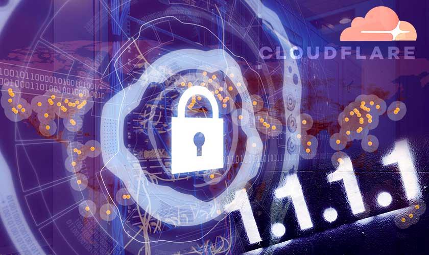 cloudfare 1111 dns service