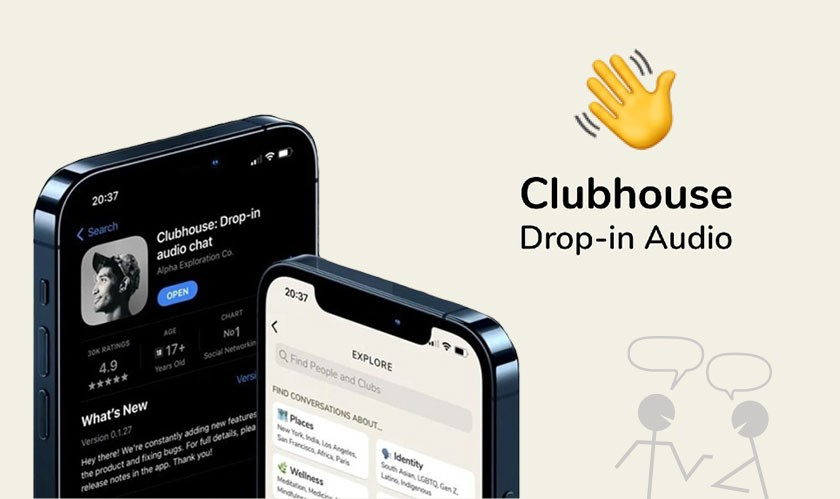 Clubhouse launches 'Wave,' a feature for easy chatroom invites