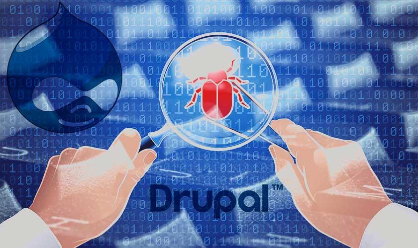 CMS Drupal bug leaves 1 million websites prone to attack