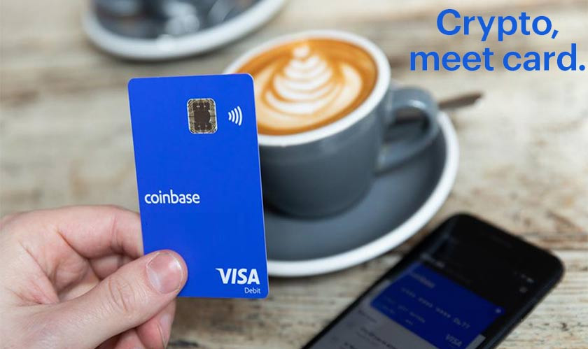 Coinbase launches its cryptocurrency-based debit card in the US