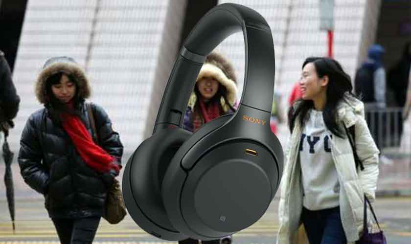 Cold weather shivers Sony 1000X M3 headphones