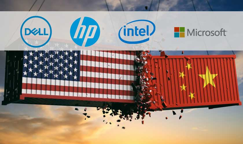 Dell, HP Inc., Microsoft and Intel come together to oppose new tariffs