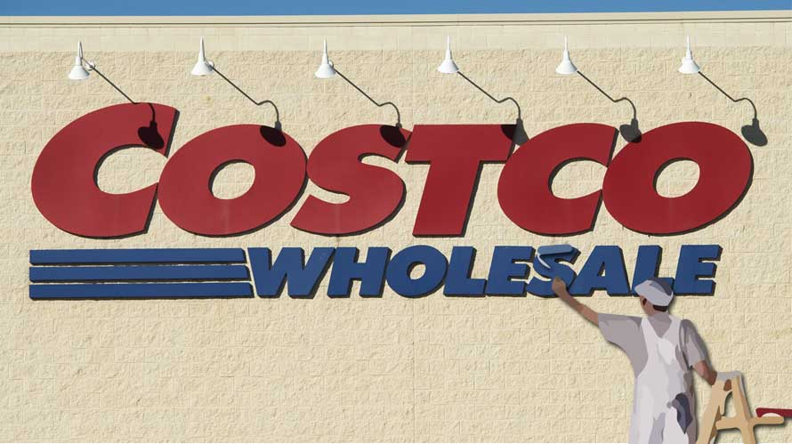 Costco's way up the ladder