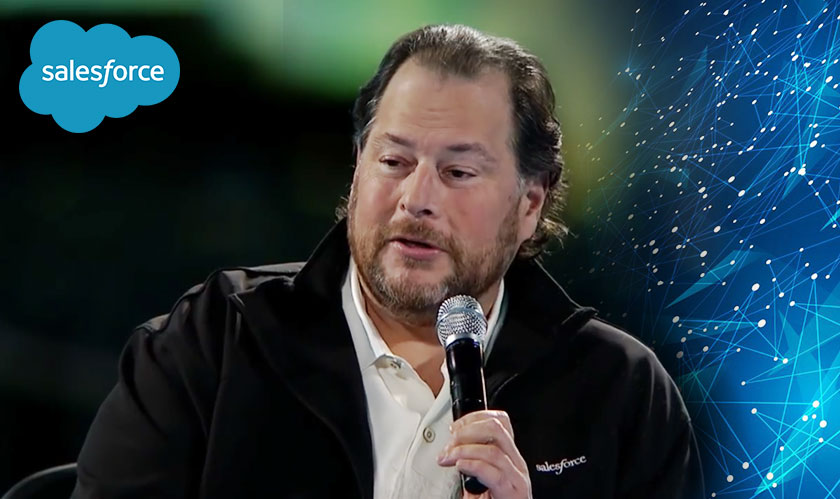 Salesforce to enter Blockchain