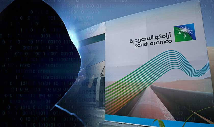 cyberattacks on aramco rising