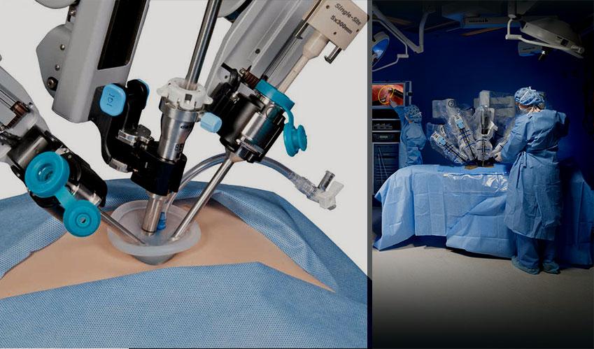 da vinci robot spinal surgery