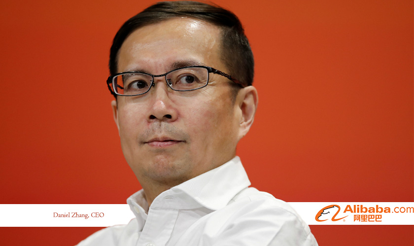 daniel zhang succeeds ma