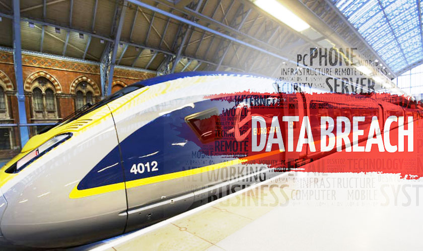 Eurostar suffers a data breach