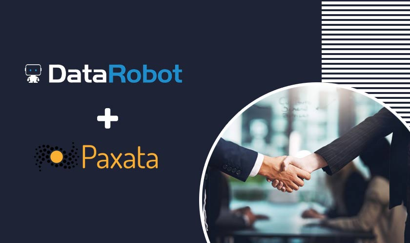it services datarobot acquires paxata