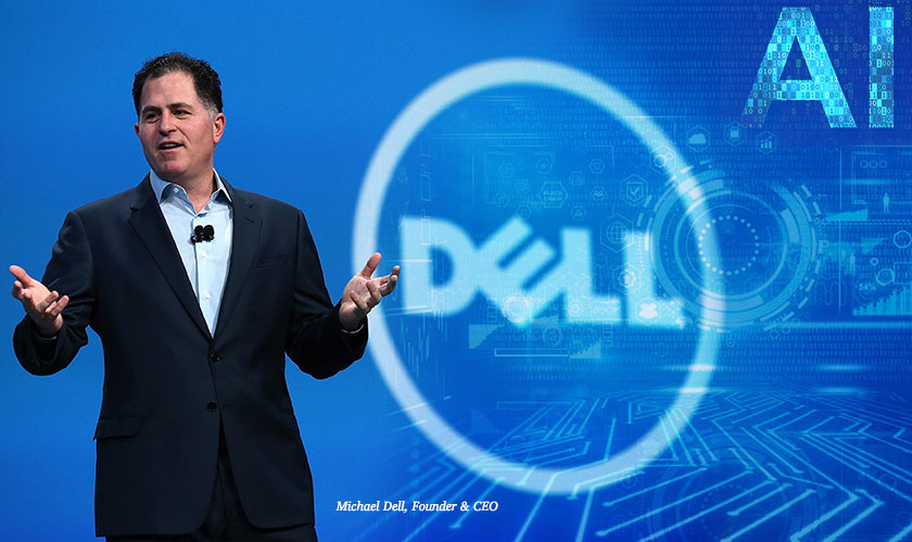 "Michael Dell: ""AI is your rocket ship"""