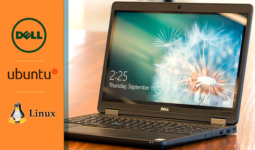 Dell Precision laptops are enabled with Ubuntu Linux