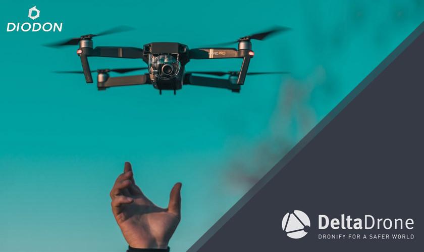 Delta Drone procures majority stake in DIODON Technology