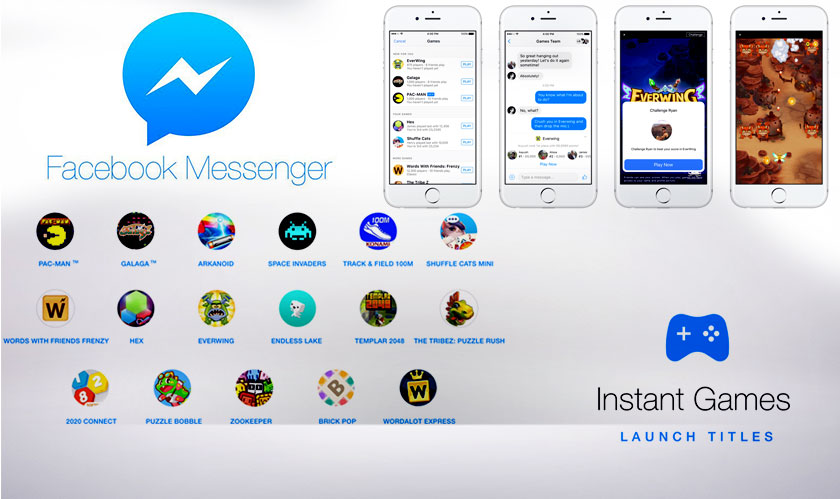 Developers can make money with ads through Instant Games on Facebook Messenger