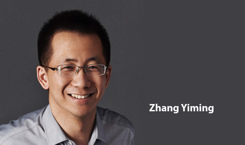 Founder of ByteDance, Zhang Yiming, steps down from his role as CEO