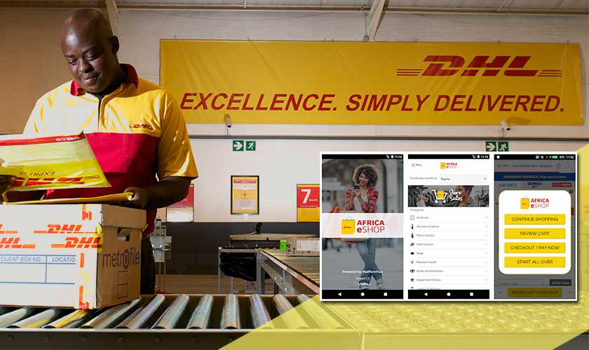 DHL unveils Africa eShop app for the global retailers
