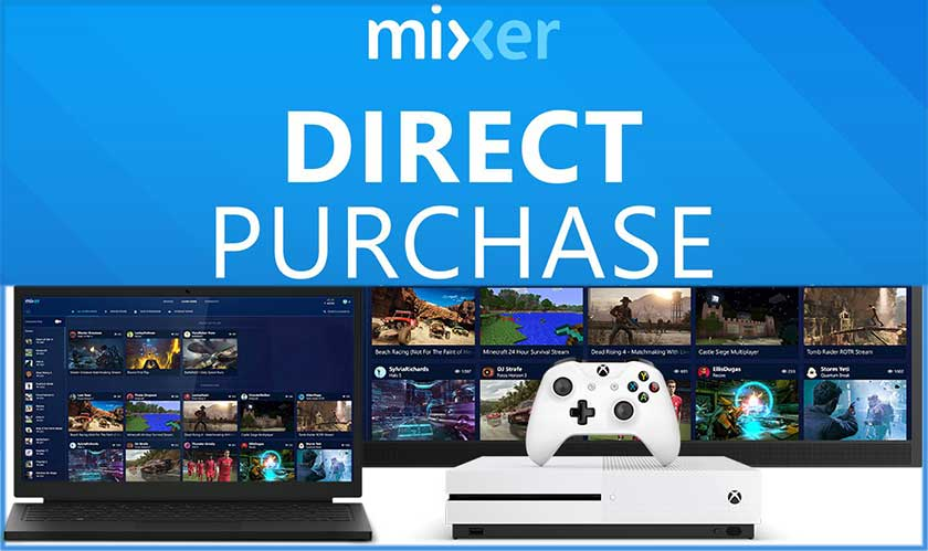 'Direct Purchase' from Microsoft Mixer lets viewers buy games directly from Livestream