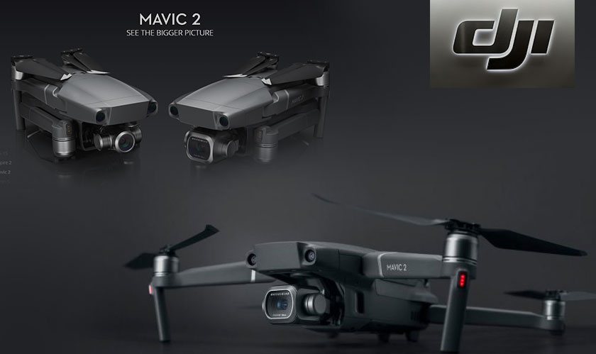 Mavic 2 Enterprise drone from DJI can search and rescue