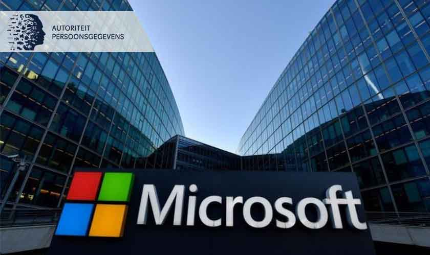 The Dutch DPA says Microsoft breaching privacy rules