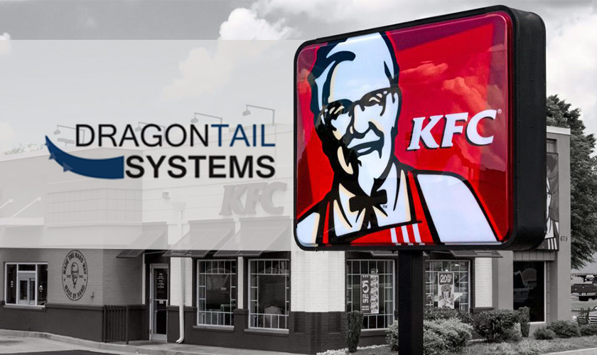 Dragontail Systems is avant-garde with foodservice industry