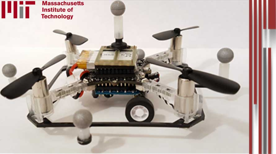 drones with wings and wheels