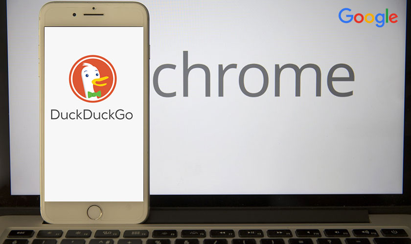 duckduckgo added in chrome