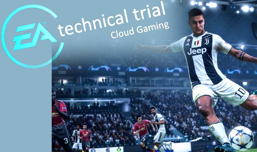 EA launching test trial for its cloud gaming service