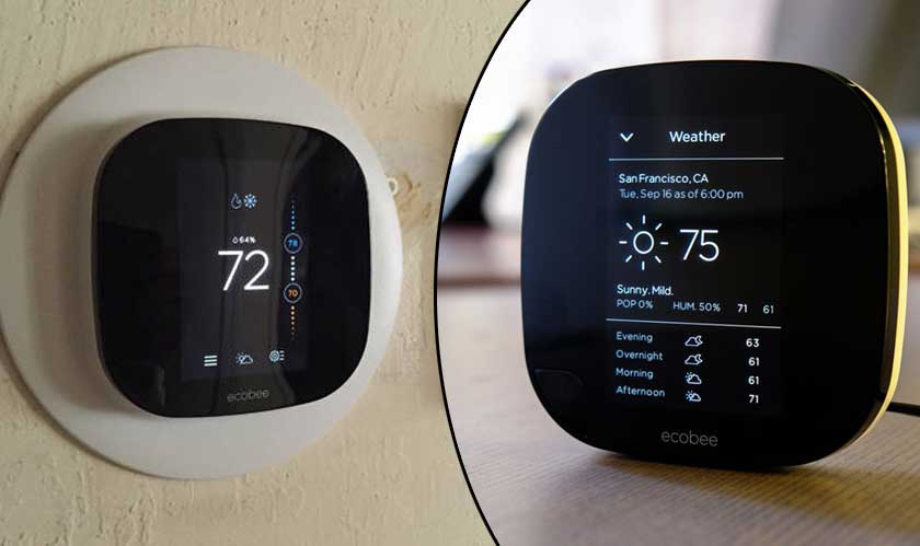 Ecobee contact sensor rivals Amazon Ring and Google Nest