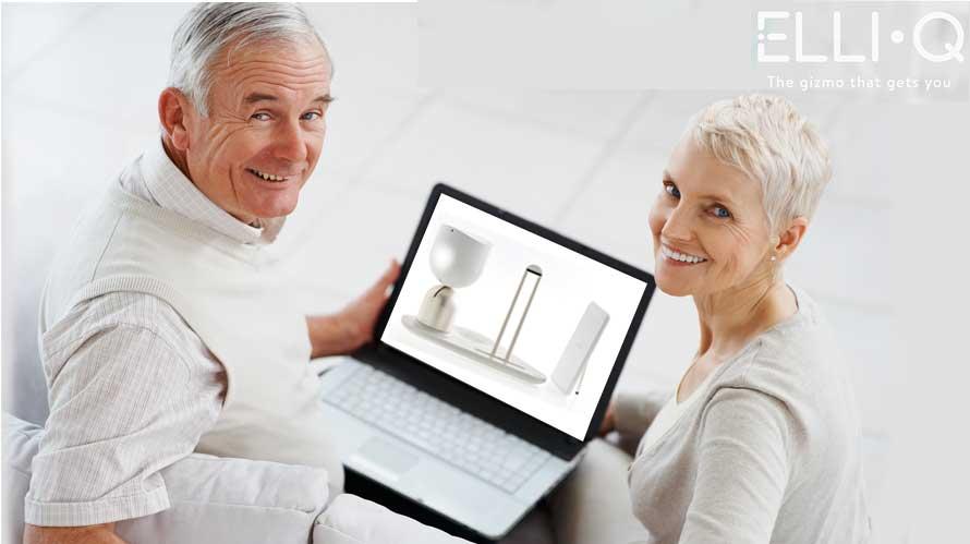 elli q a robot for the elderly