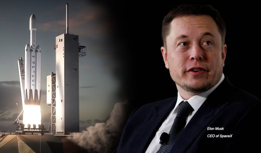elon musk space rocket