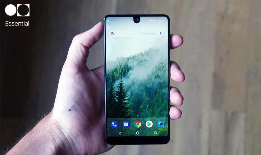 "Essential's new AI phone will be a ""virtual version of you"""