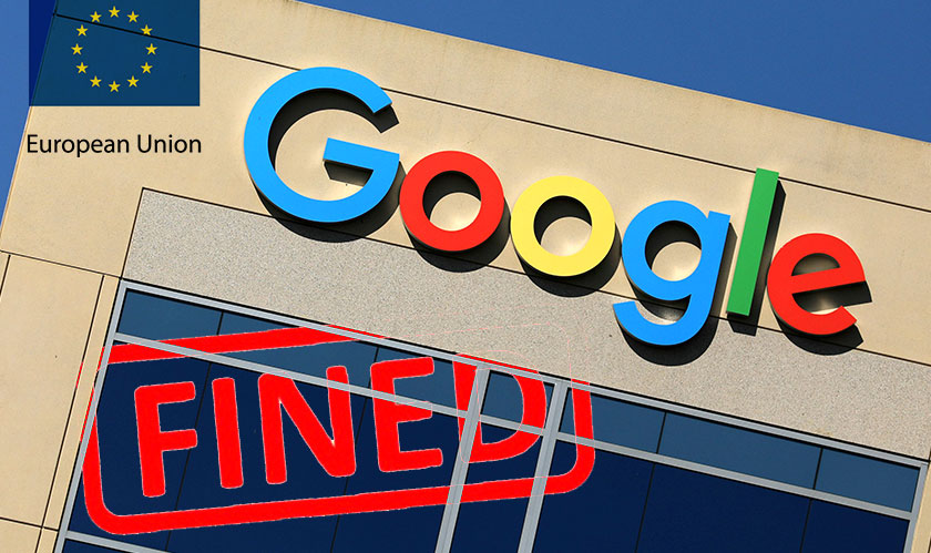eu fines google breaking laws