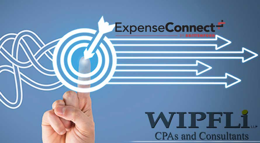 ExpenseConnect from Wipfli delivers smooth Expense Management Connector