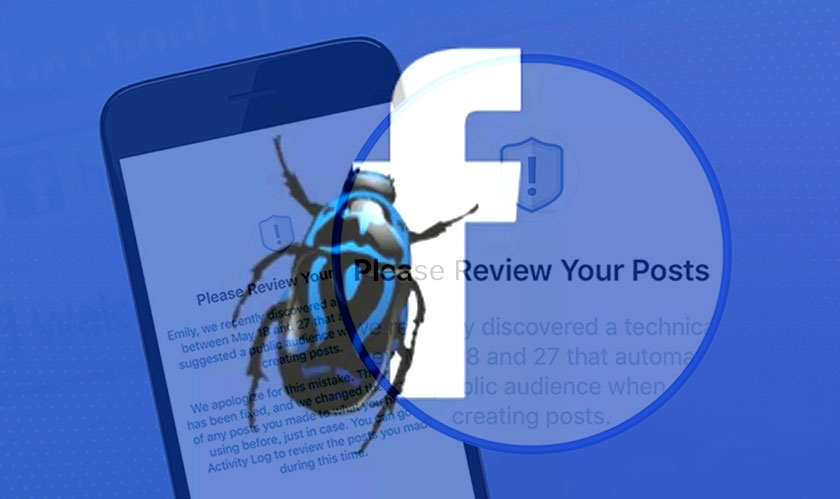 Facebook's fragility:  A Bug Exposed, Affecting Millions of Users