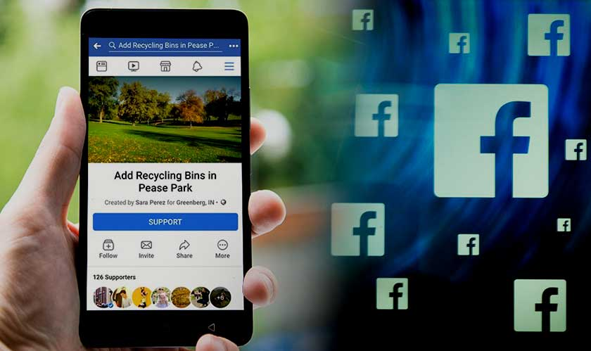facebook community actions feature