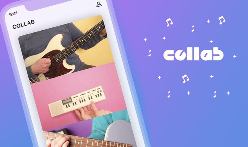 Facebook Launches Its Collaborative Music Video App 'Collab'