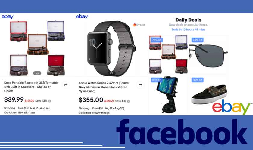 Facebook Marketplace collaborates with eBay to bring out Daily Deals
