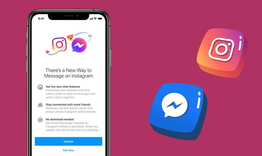 Facebook Merging Messenger with Instagram DMs