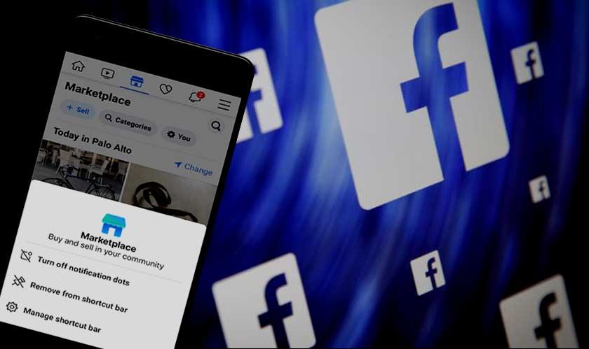 mobile facebook notification dots social media