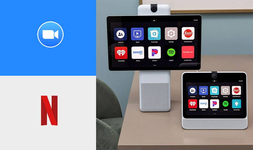 Facebook's Portal gets Netflix, Zoom, and other features